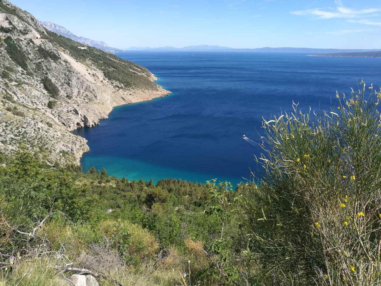 Bucht in Kroatien an der Adria