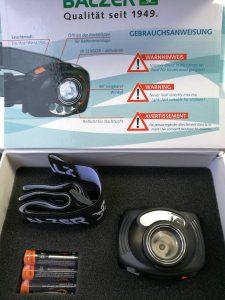 Balzer infrarot Kopflampe mit LED in originalverpackung