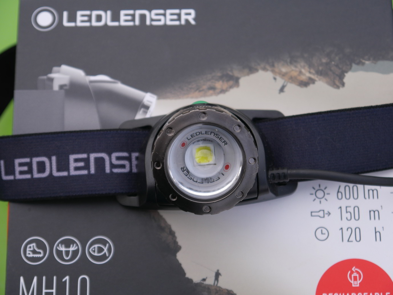 ledlenser mh10 led stirnlampe im test. Black Bedroom Furniture Sets. Home Design Ideas