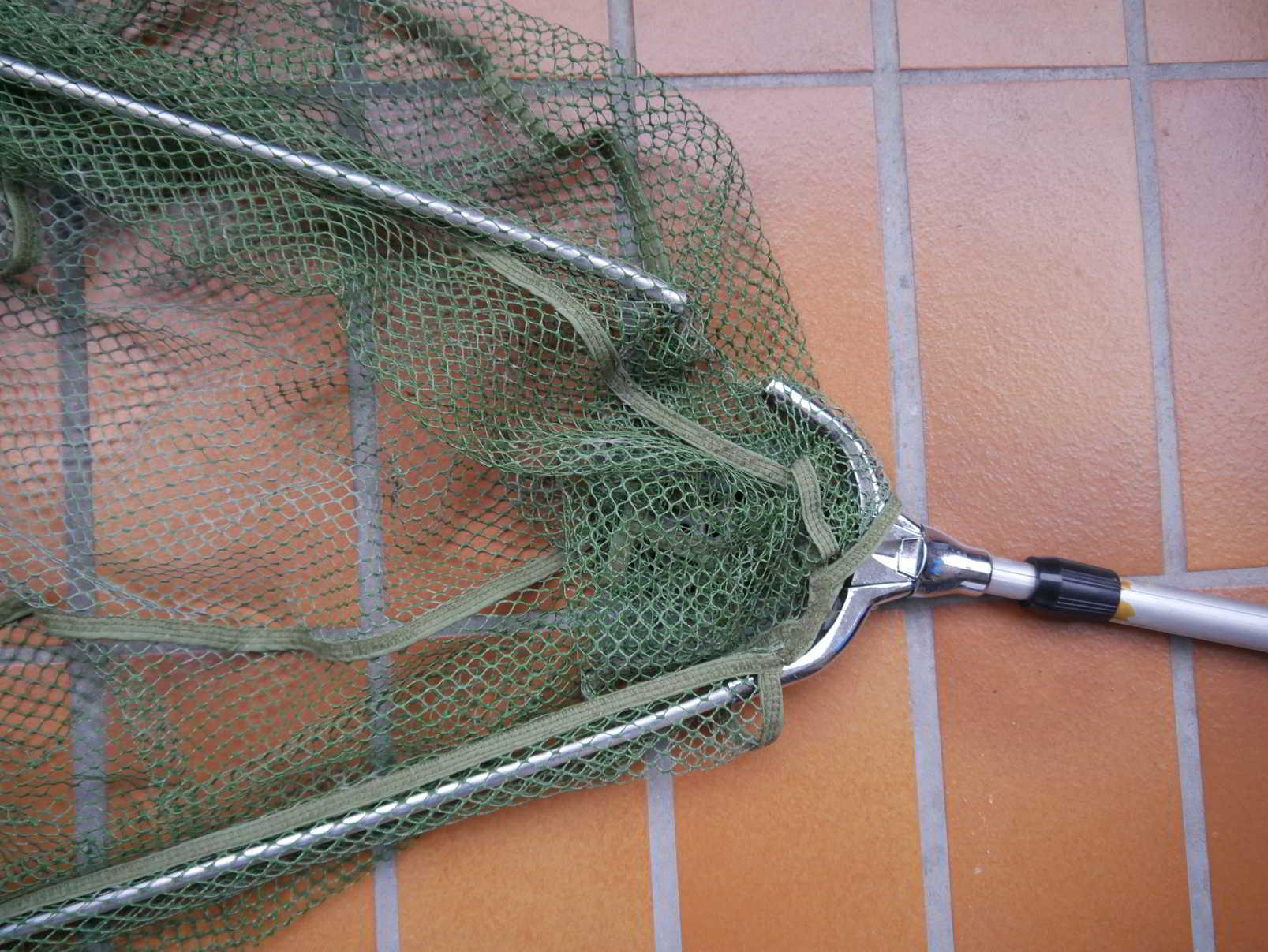 Angel-Kescher Netz für Fischer Nylon Verschiedene Größen Sport Haltbar Stabil